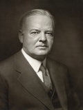 Herbert Hoover Portrait by Noted Photographer Bachrach Photo