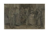 Street Scene in London, 1888 Giclee Print by Jan Toorop