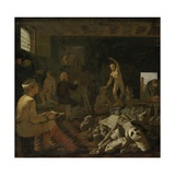 A Painter's Studio, 1646-50 Giclee Print by Michael Sweerts