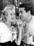 Song of the Islands, from Left, Betty Grable, Victor Mature, 1942 Photo
