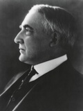 Profile Portrait of President Warren Harding, Ca. 1921-23 Photo