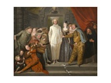 The Italian Comedians, 1720 Giclee Print by Antoine Watteau