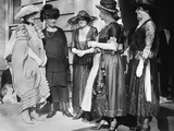 First Lady Florence Harding (Left) with a Group Including Grace Coolidge (Right) Photo