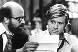 The Candidate, from Left: Peter Boyle, Robert Redford, 1972 Photo