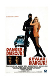 Danger: Diabolik!, (AKA Diabolik), John Phillip Law, Marisa Mell, 1968 Giclee Print