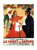Waltzes from Vienna, (AKA Le Chant Du Danube), Esmond Knight, Jessie Matthews, Edmund Gwenn, 1933 Giclee Print