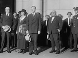 New President Calvin Coolidge and His Wife Grace Arrived in Washington DC on Aug. 3, 1923 Photo
