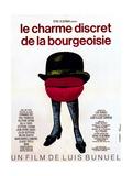 The Discreet Charm of the Bourgeoisie, (aka Le Charme Discret De La Bourgeoisie), 1972 Giclée-tryk