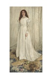 Symphony in White, No. 1: the White Girl, 1862 Giclee Print by James McNeill Whistler
