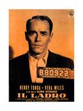 The Wrong Man, (AKA Il Ladro), Henry Fonda, 1956 Digitálně vytištěná reprodukce