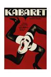 Carbaret, (AKA Kabaret), Poster, 1972 Reproduction procédé giclée
