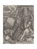 Melancholy, 1602 Giclee Print by Hieronymus Wierix