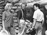 Ace in the Hole, (AKA the Big Carnival), from Left, Jan Sterling, Kirk Douglas, Robert Arthur, 1951 Photo