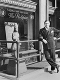George Preston Marshall, Owner of Washington Redskins at the Clubs Offices in 1940 Photo