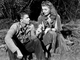 Juke Girl, from Left, Ronald Reagan, Ann Sheridan, 1942 Photo