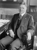 Herbert Hoover as Head of the U.S. Food Administration During World War 1 in 1918 Photo