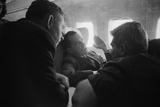 Vice President Richard Nixon Talking with Reporters on Return from Soviet Russia Photo
