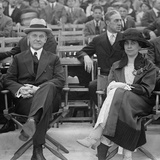 President Calvin Coolidge and the First Lady Grace Coolidge at a Circus Photo