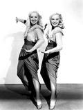 The Dolly Sisters, from Left, Betty Grable, June Haver, 1945 Photo