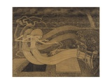 O Grave, Where Is Thy Victory, But Jan Toorop, 1892 Giclee Print by Jan Toorop