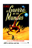 The War of the Worlds, (AKA La Guerra De Los Mundos), 1953 Giclee Print