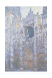 Rouen Cathedral, West Facade, 1894 Giclee Print by Claude Monet