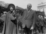 Evangeline Booth and President Warren Harding at the White House, 1921 Photo