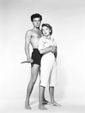 Beneath the 12-Mile Reef, Robert Wagner, Terry Moore, 1953 Photo