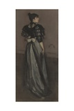 Mother of Pearl and Silver: the Andalusian, 1888-1900 Giclee Print by James McNeill Whistler