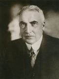 President Warren Harding in a Portrait by Society Photographer Bachrach, Ca. 1921-23 Photo