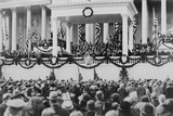 Chief Justice William Taft Administering the Oath of Office to Calvin Coolidge Photo