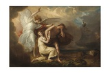 The Expulsion of Adam and Eve from Paradise, 1791 Giclee Print by Benjamin West