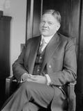 Herbert Hoover in 1921, as Secretary of Commerce for Republican President Warren Harding Photo