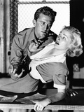 Detective Story, from Left, Kirk Douglas, Eleanor Parker, 1951 Photo