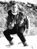 The Heroes of Telemark, Kirk Douglas, 1965 Photo