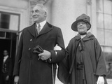 President Warren Harding and First Lady Florence Kling Harding Photo
