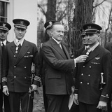 President Calvin Coolidge Awards Medal of Honor to Flyers Adm. Richard Byrd and Floyd Bennett Photo