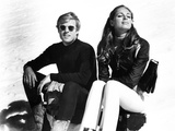 Downhill Racer, Robert Redford, Camilla Sparv, 1969 Photo