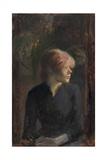 Carmen Gaudin, 1885 Lámina giclée por Henri Toulouse-Lautrec
