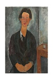 Chaim Soutine, 1917 Giclee Print by Amedeo Modigliani