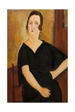 Madame Amedee (Woman with Cigarette), 1918 Giclee Print by Amedeo Modigliani