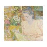 Portrait of Marie Jeanette De Lange, 1900 Giclee Print by Jan Toorop