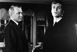 Bunny Lake Is Missing, from Left: Laurence Olivier, Keir Dullea, 1965 Photo