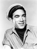 City Beneath the Sea, Anthony Quinn, 1953 Photo