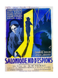 Under Secret Orders, (AKA Mademoiselle Docteur, Aka Salonique, Nid D'Espions), Louis Jouvet, 1937 Giclee Print