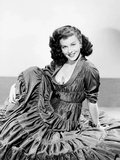 Anna Lucasta, Paulette Goddard, Wearing a Dress by Jean Louis, 1949 Photo