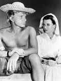 Alexander the Great, from Left, Richard Burton, Claire Bloom, On-Set, 1956 Photo