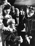 Hamlet, from Left: Eileen Herlie, Laurence Olivier, Basil Sydney, 1948 Photo