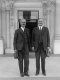 President Herbert Hoover and British Prime Minister Ramsey Macdonald at the White House Photo