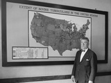 Dr. J. A. Kierman Headed Tuberculosis Eradication in the U.S. Dept. of Agriculture. Sept. 17, 1924 Photo